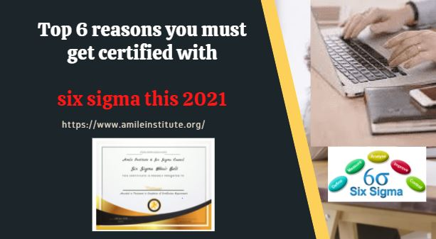 Yellow Belt Six Sigma Certification