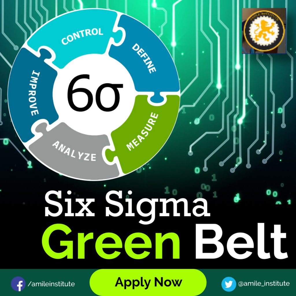 green belt six sigma certification