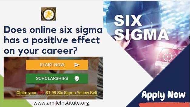 yellow belt six sigma certification