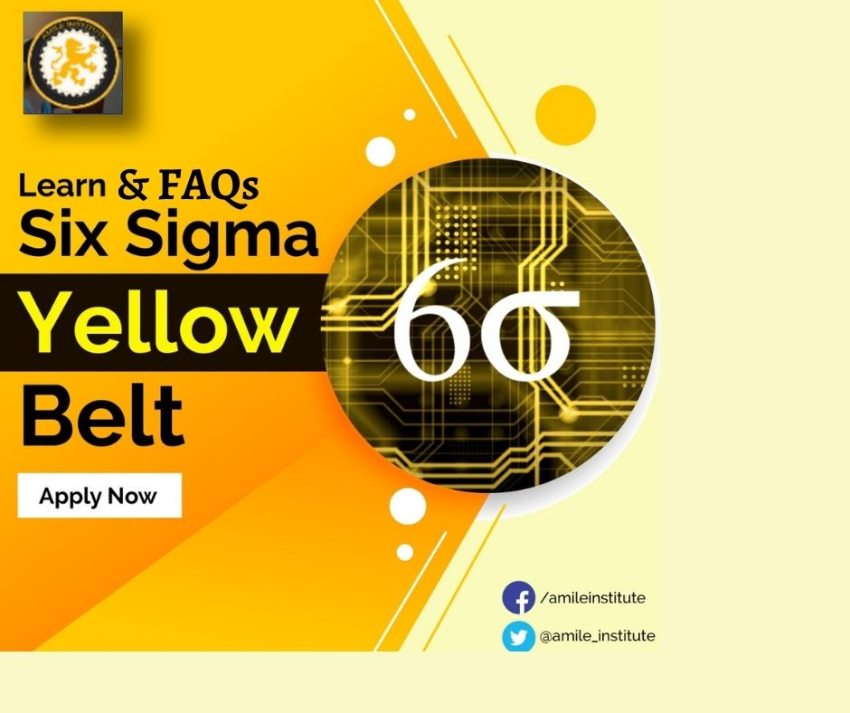 online yellow belt six sigma certiication