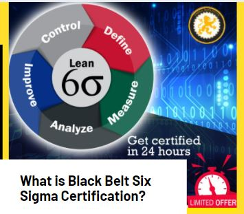 Black Belt Six Sigma Certification